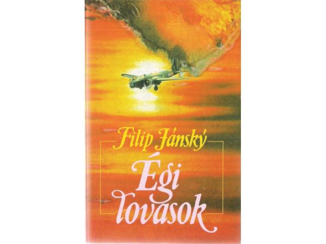 První maďarské vydání knihy Filipa Jánského Nebeští jezdci.