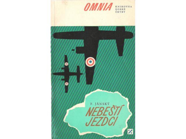 Čtvrté české vydání knihy Filipa Jánského Nebeští jezdci.