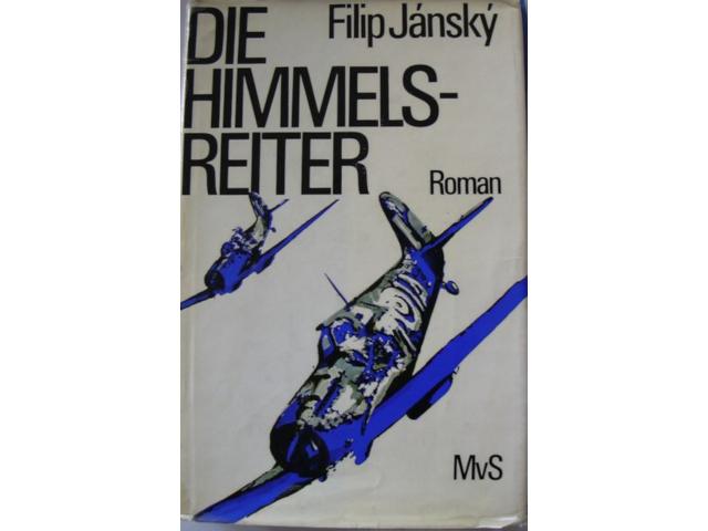 První německé vydání knihy Filipa Jánského Nebeští jezdci.