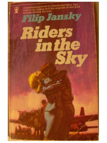 Anglické vydání knihy Filipa Jánského Nebeští jezdci - Riders in the sky.